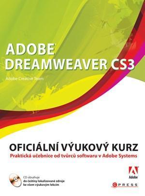 Adobe Dreamweaver CS3 - oficiální výukový kurz /bazarové zboží/