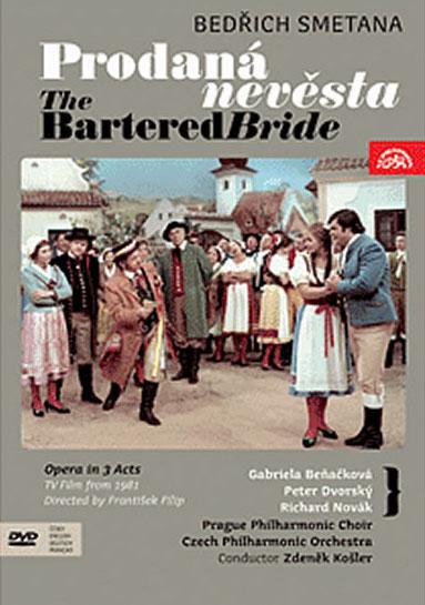 Prodaná nevěsta - opera - DVD /plast/