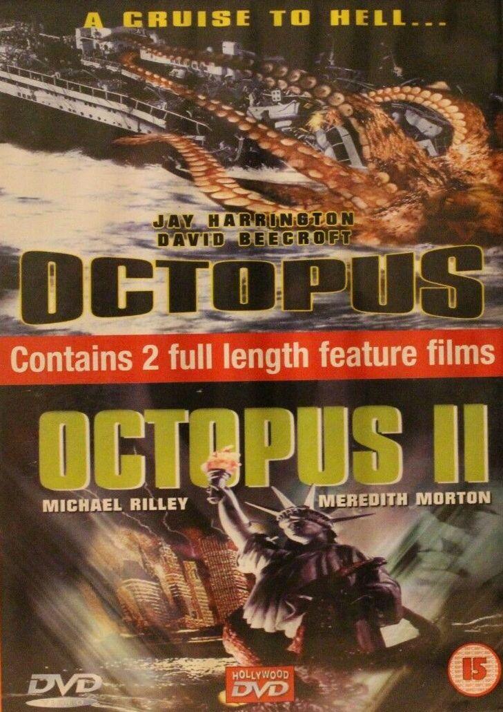 Octopus / Octopus II - v originálním znění bez CZ titulků - DVD /plast/