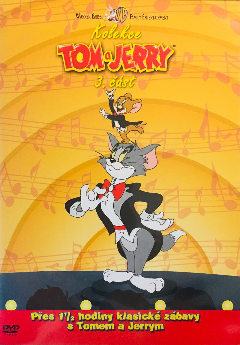 Kolekce Tom a Jerry - 3. část - DVD /plast/