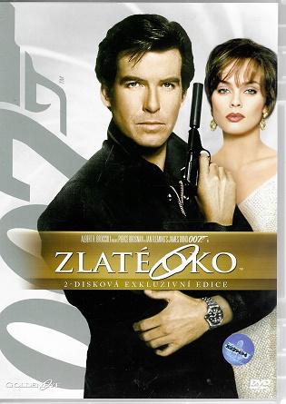 James Bond 04 -Zlaté oko  2-disková exkluzivní edice ( plast ) DVD