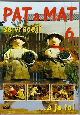 Pat a Mat 6 ( plast ) DVD