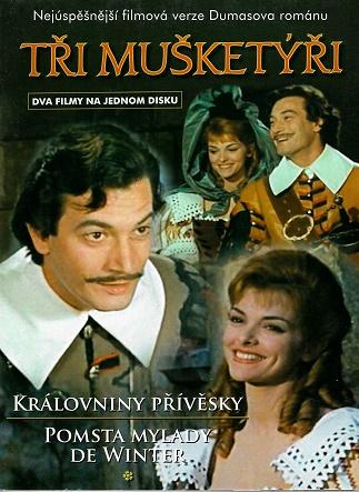 Tři mušketýři - Královniny přívěsky / Pomsta mylady de Winter ( digipack ) DVD
