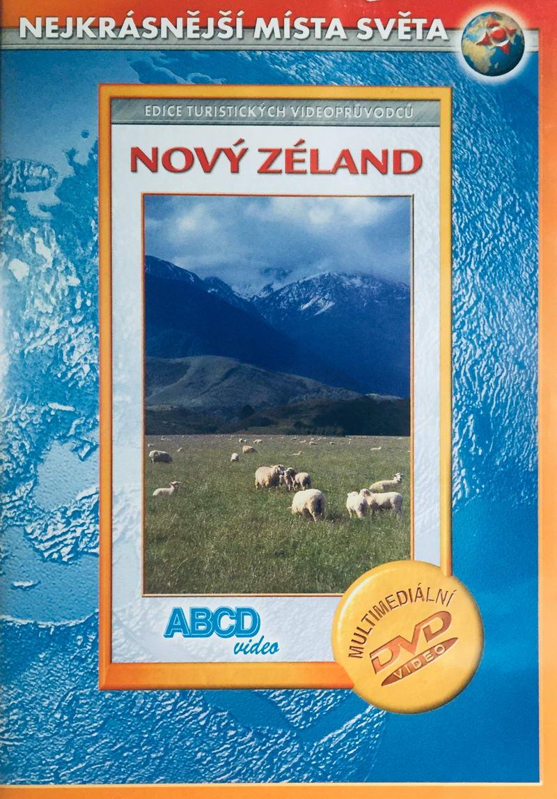 Nejkrásnější místa světa - Nový Zéland - DVD /plast/bazarové zboží/
