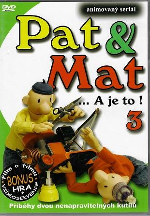 Pat a Mat 3 ( plast ) DVD