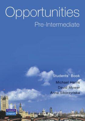 Opportunities Pre-Intermediate - Student's Book - Michael Harris /bazarové zboží/
