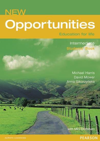 New Opportunities - Education for life - Intermediate - Student's Book - Michael Harris /bazarové zboží/