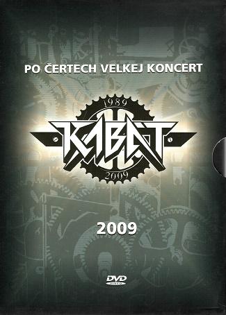 Kabát 2 DVD - Po četech velkej koncert 2009 ( plast ) DVD