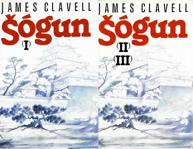 Kolekce ŠÓGUN - James Clavell ( 2x kniha bazarová )