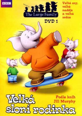 Velká sloní rodinka 1 - DVD