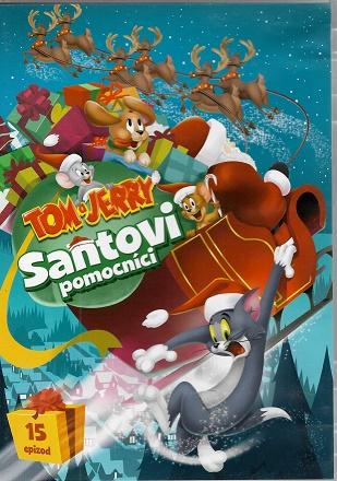 Tom a Jerry: Santovi pomocníci ( plast ) DVD