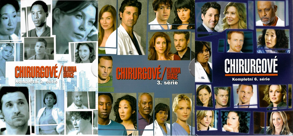 Kolekce Chirurgové - kompletní série 2,3,6 - DVD
