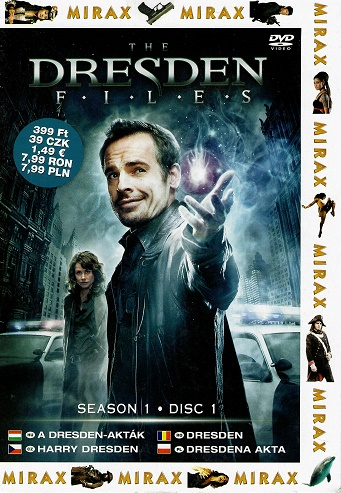The Dresden Files / Dresden (TV seriál) - pošetka DVD