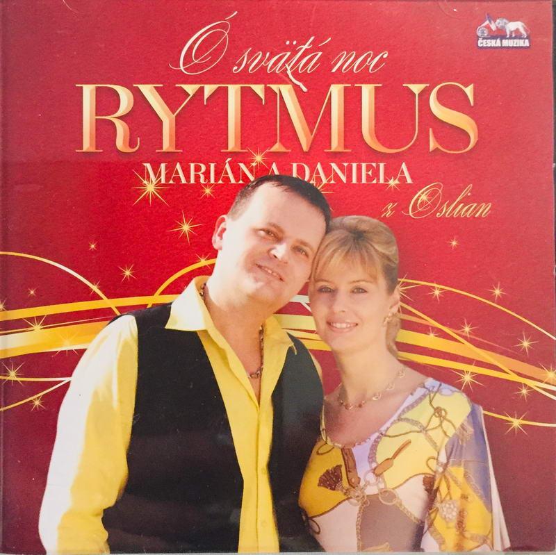 Rytmus - Marián a Daniela z Oslian - O svätá noc - CD /plast/