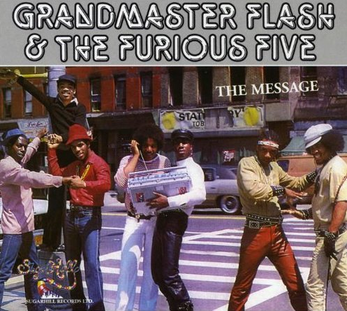 Grandmaster Flash & The Furious Five - The Message - CD /digipack malý/