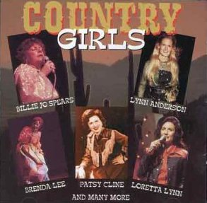 Country Girls - Various Artists - CD /plast/