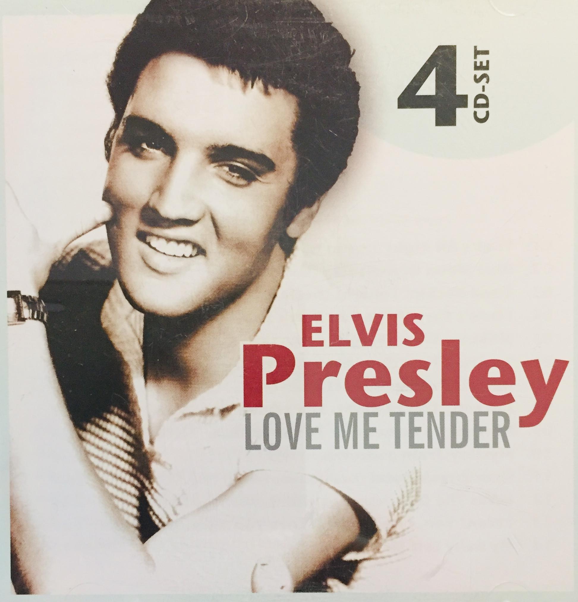 Elvis Presley - Love me Tender - 4xCD /plast/