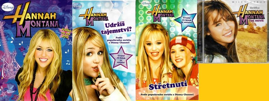 Hannah Montana - knížka na rok 2012 / Střetnutí / Udržíš tajemství? ( 3x kniha + CD )
