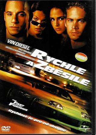 Rychle a zběsile ( originální znění, titulky CZ ) plast DVD