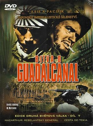 Bitva o Guadalcanal ( digipack ) DVD