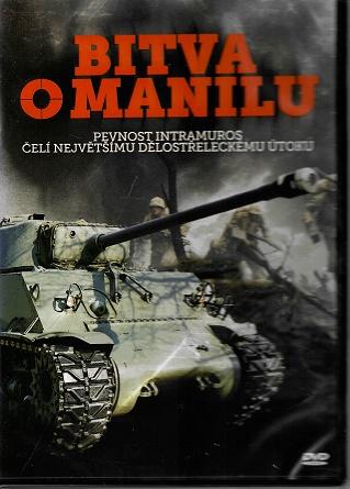 Bitva o Manilu ( plast ) DVD