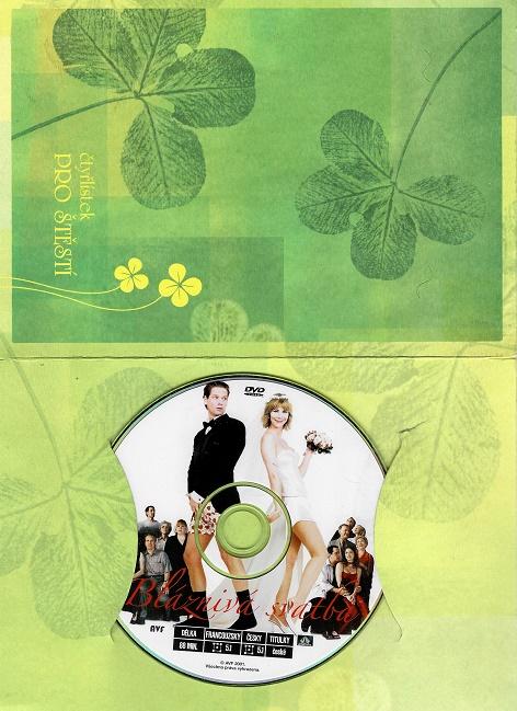Bláznivá svatba ( dárkový obal) DVD