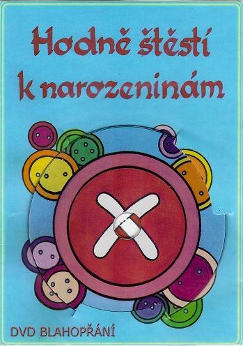 Blahopřání ( Jánošík ) - DVD blahopřání hodně štěstí k narozeninám