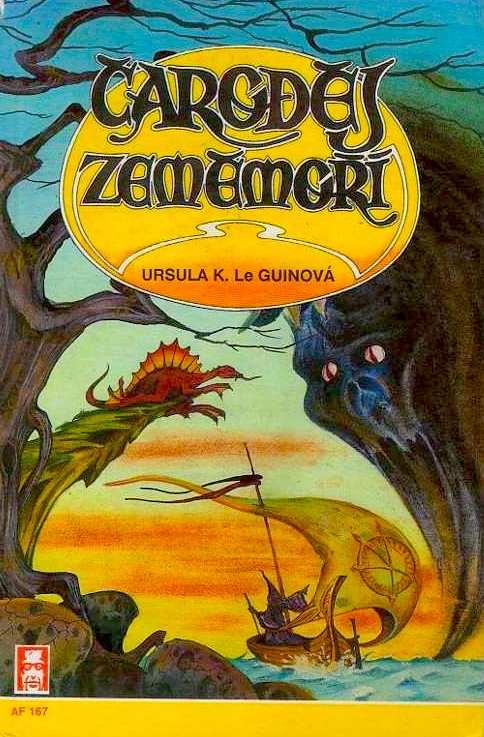 Čaroděj Zeměmoří - Ursula K. Le Guinová /bazarové zboží/