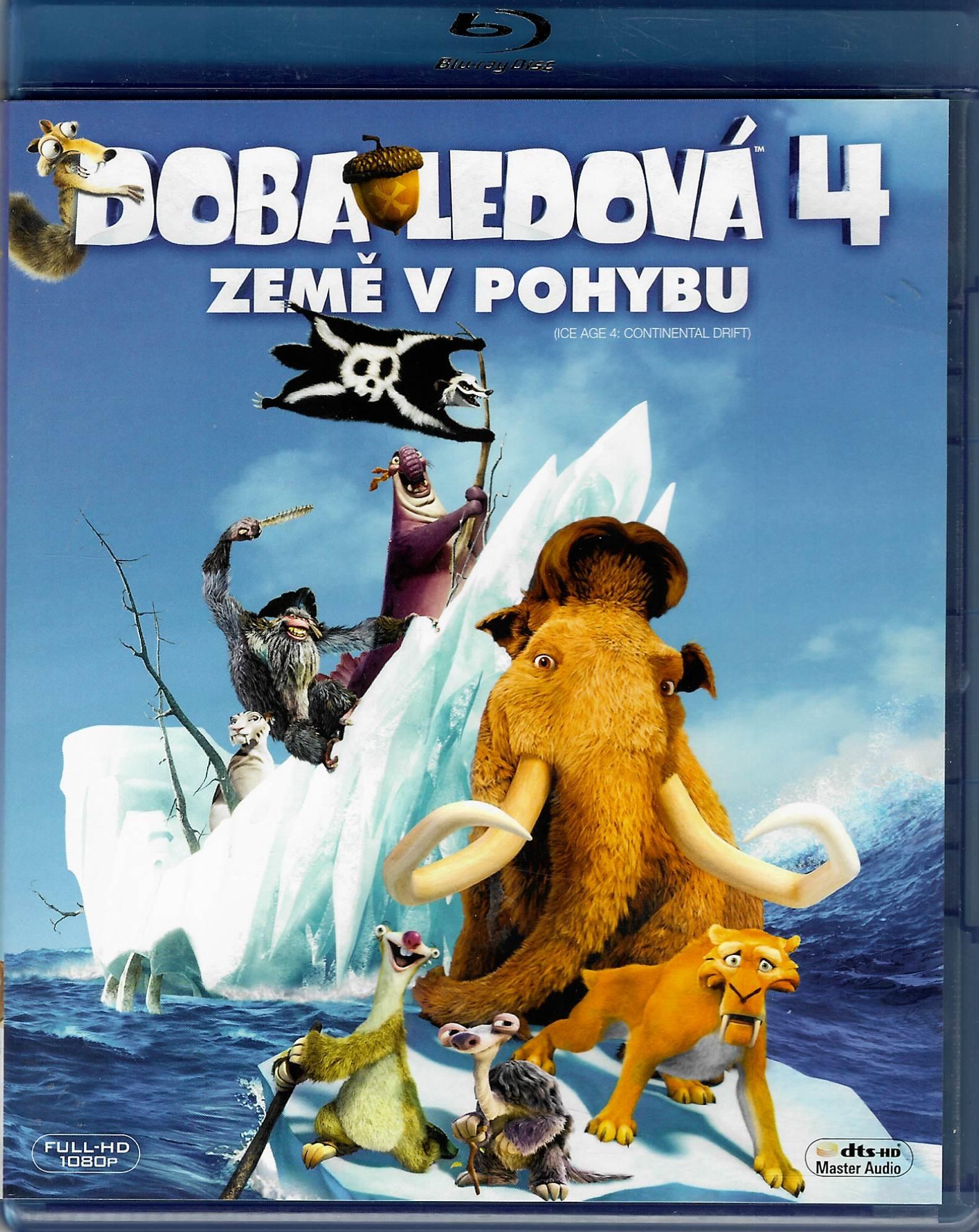 Doba ledová 4: Země v pohybu - Blu-ray