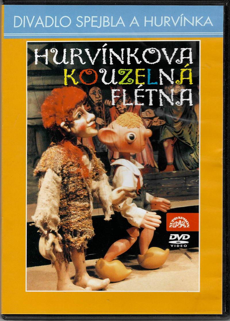 Hurvínkova kouzelná flétna - DVD plast
