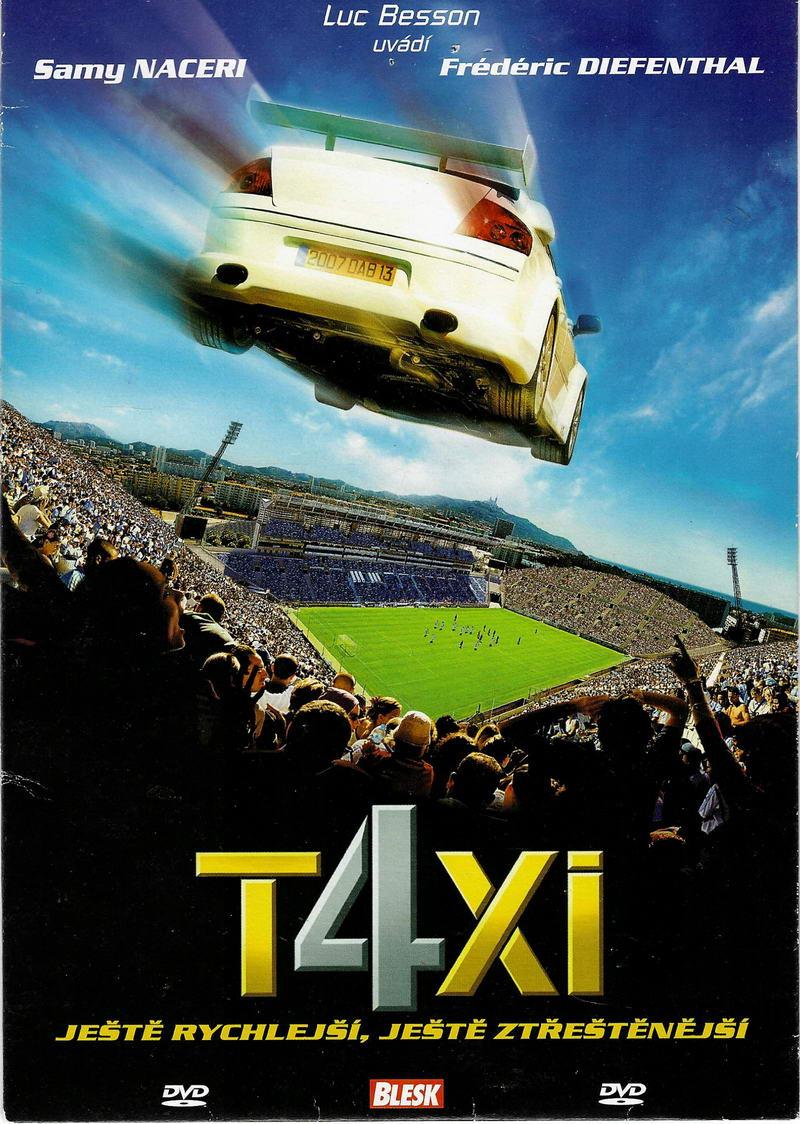 Taxi 4 - DVD pošetka