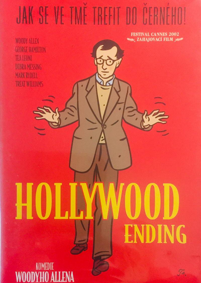 Jak se ve tmě trefit do černého! / Hollywood ending - DVD /plast/