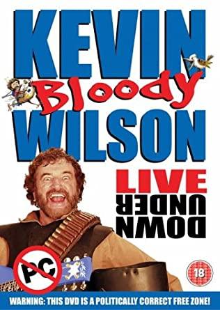 Kevin Bloody Wilson - Live Under Down - v originálním znění bez CZ titulků - DVD /plast/