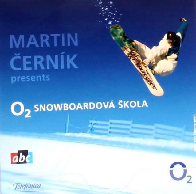 Martin Černík - O2 Snowboardová škola - DVD /pošetka malá/