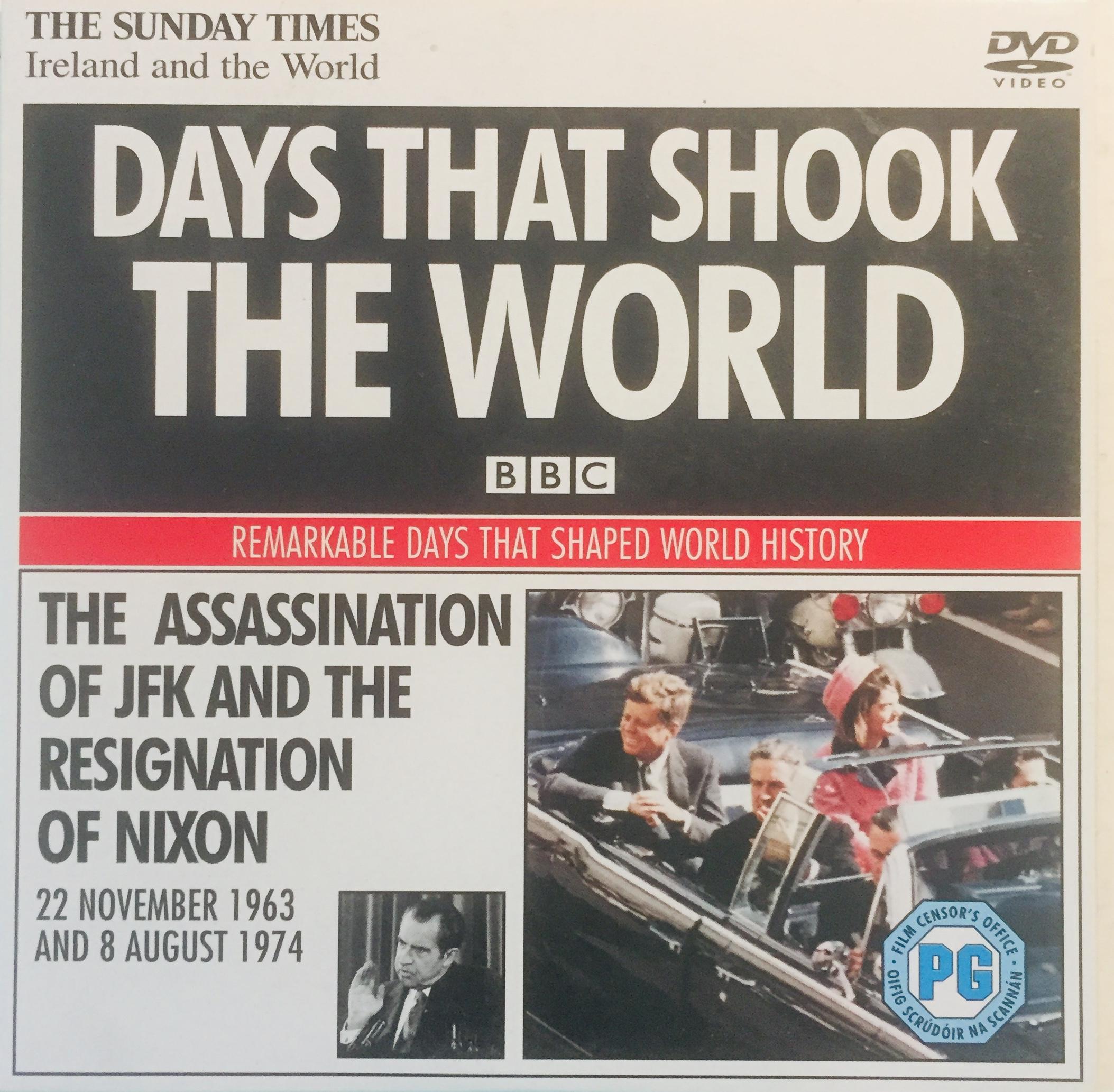 Days that shook the World - 22.11. 1963 and 8.8. 1974 - v originálním znění bez CZ titulků - DVD /pošetka malá/
