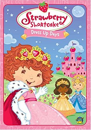 Strawberry Shortcake - Dress Up Days / Jahůdka - Maškarní ples - DVD /pošetka/