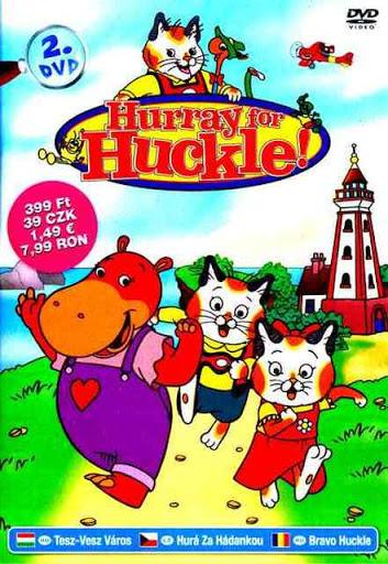 Hurray for Huckle! 2 / Hurá za hádankou 2 - DVD /pošetka/