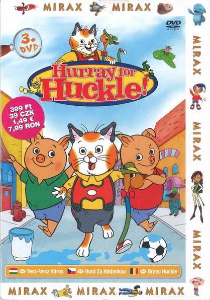 Hurray for Huckle! 3 / Hurá za hádankou 3 - DVD /pošetka/