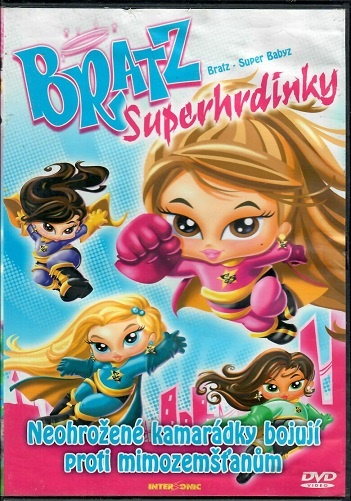 Bratz: Superhdinky ( plast ) DVD