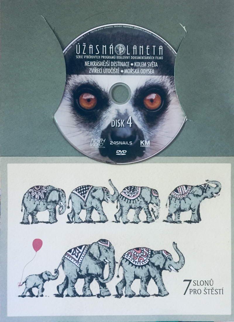 Úžasná planeta disk 4 - Nejkrásnější destinace - DVD /dárkový obal/