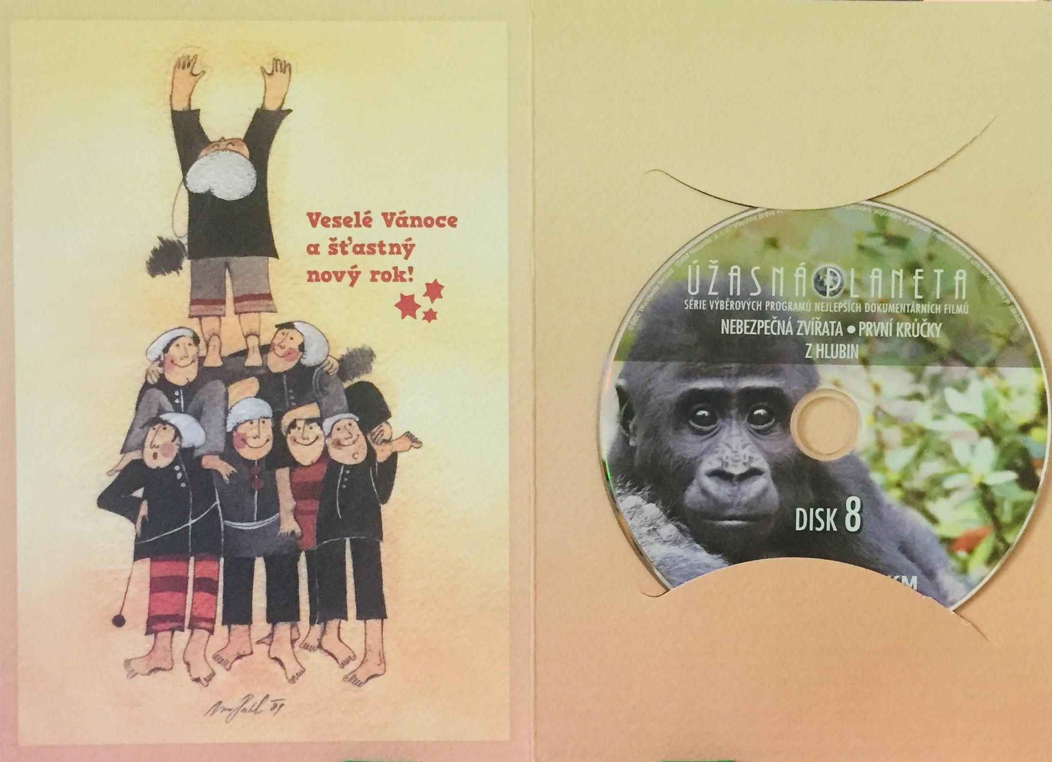 Úžasná planeta disk 8 - Nebezpečná zvířata - DVD /dárkový obal/