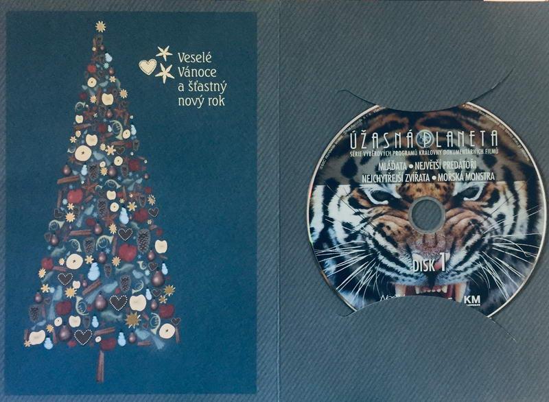 Úžasná planeta disk 1 - Mláďata - DVD /dárkový obal/