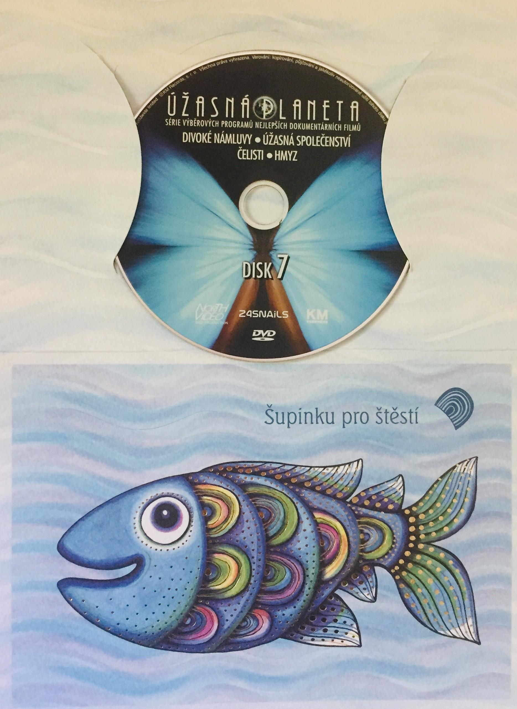 Úžasná planeta disk 7 - Divoké námluvy - DVD /dárkový obal/