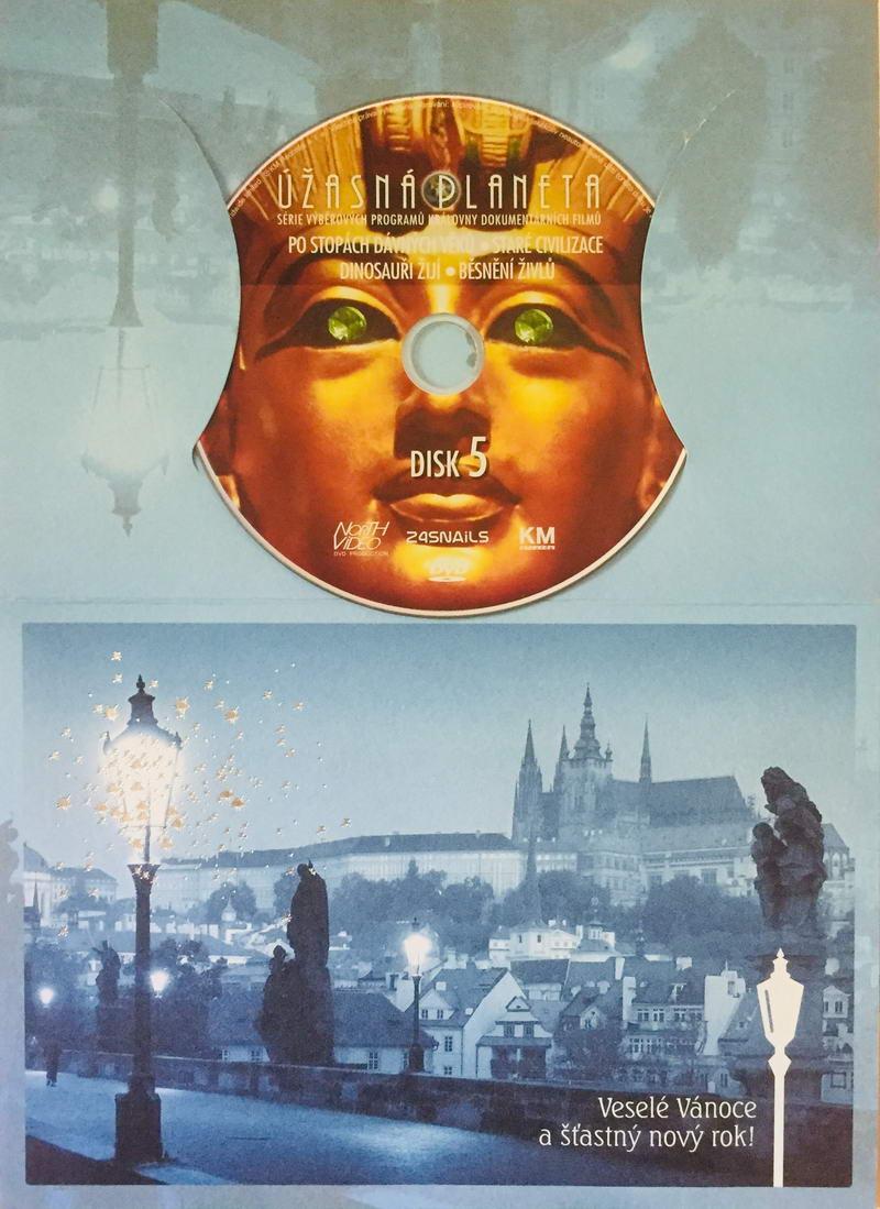 Úžasná planeta disk 5 - Po stopách dávných věků - DVD /dárkový obal/