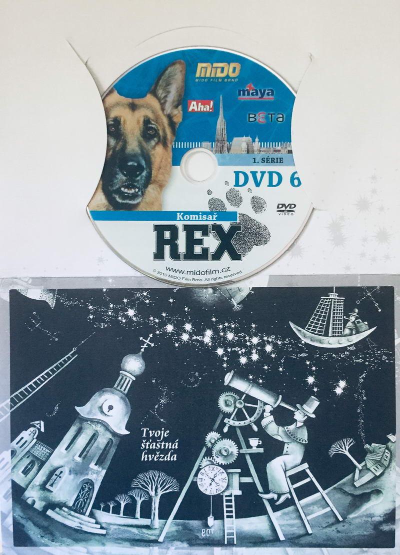 Komisař Rex - 1. série DVD 6 - DVD /dárkový obal/
