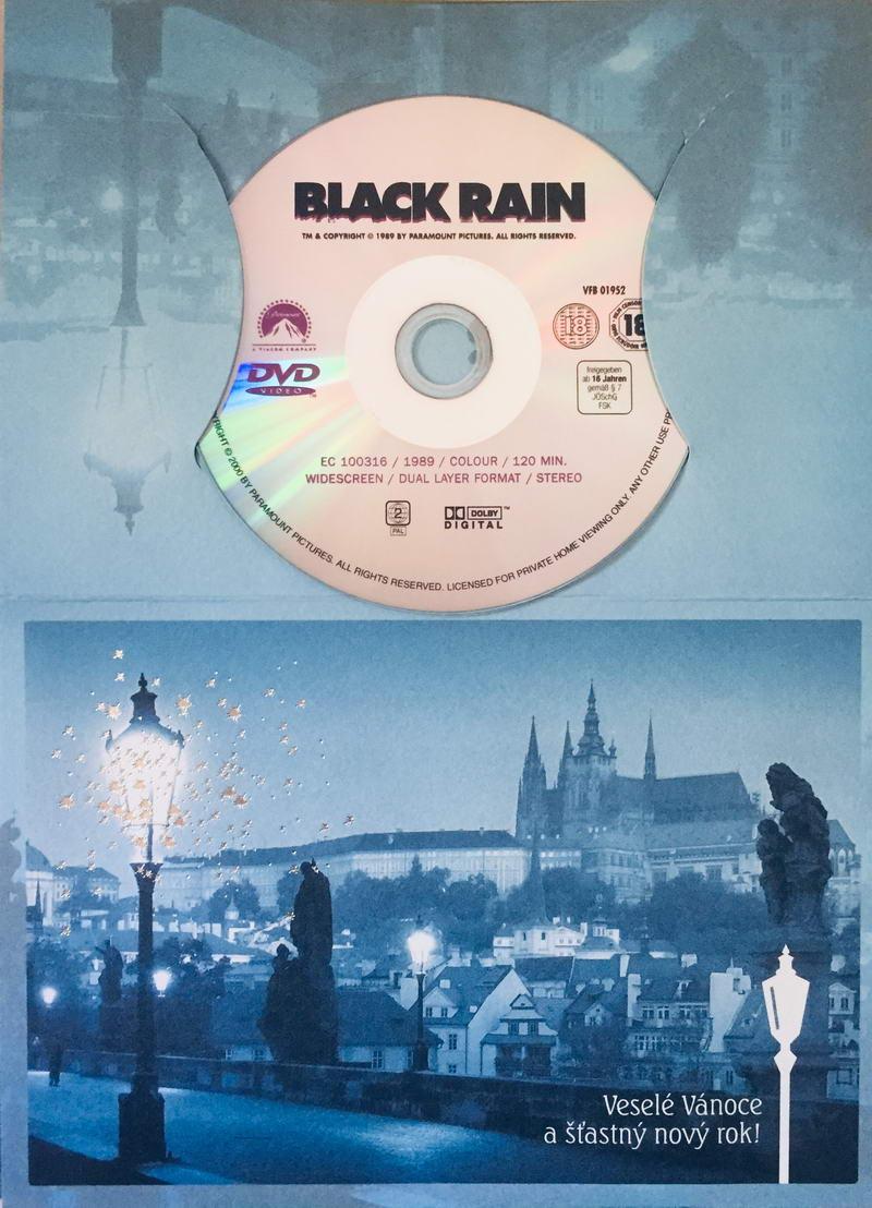 Black Rain / Černý déšť - DVD /dárkový obal/