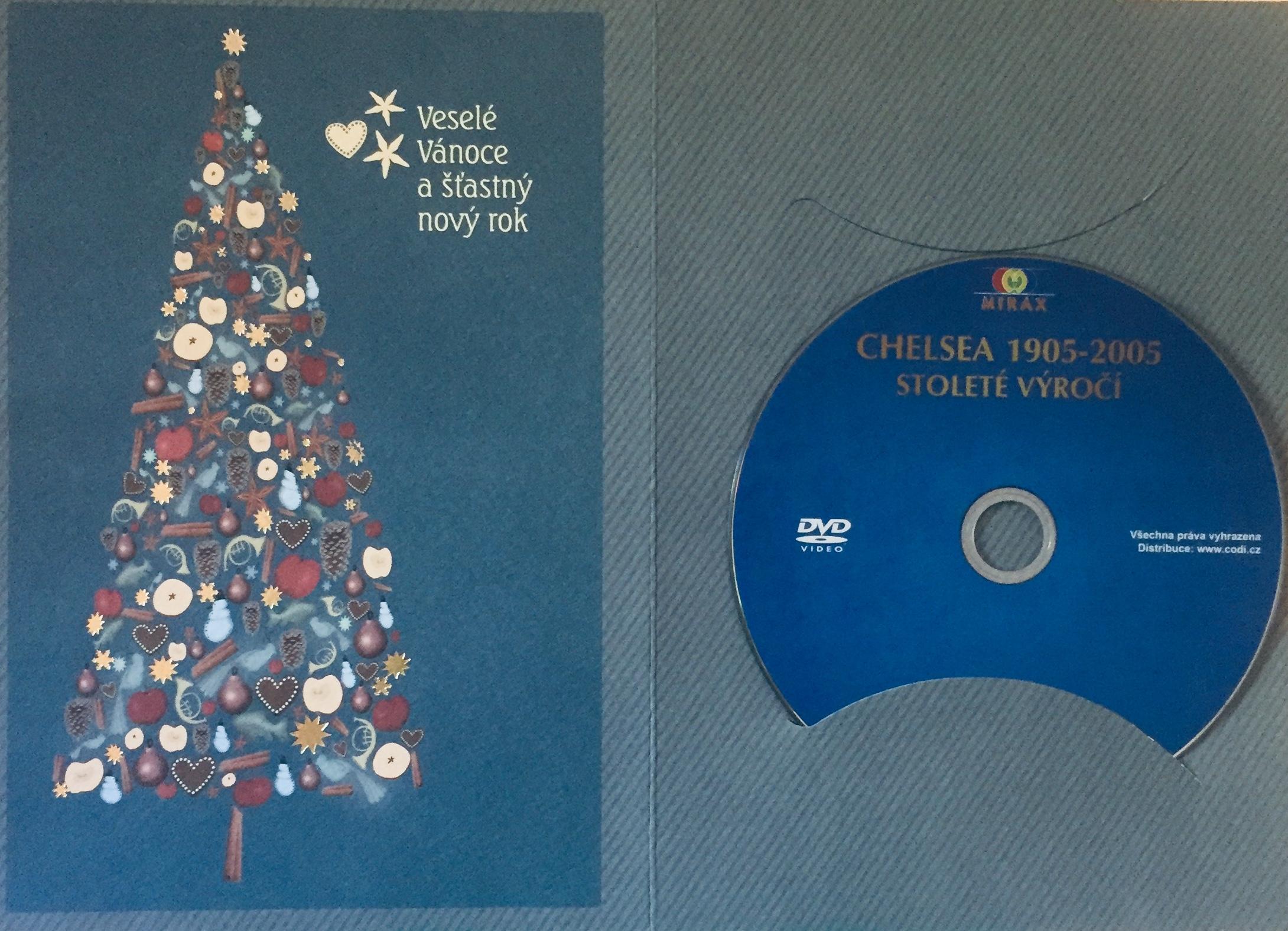 Chelsea 1905-2005 - Stoleté výročí - DVD /dárkový obal/