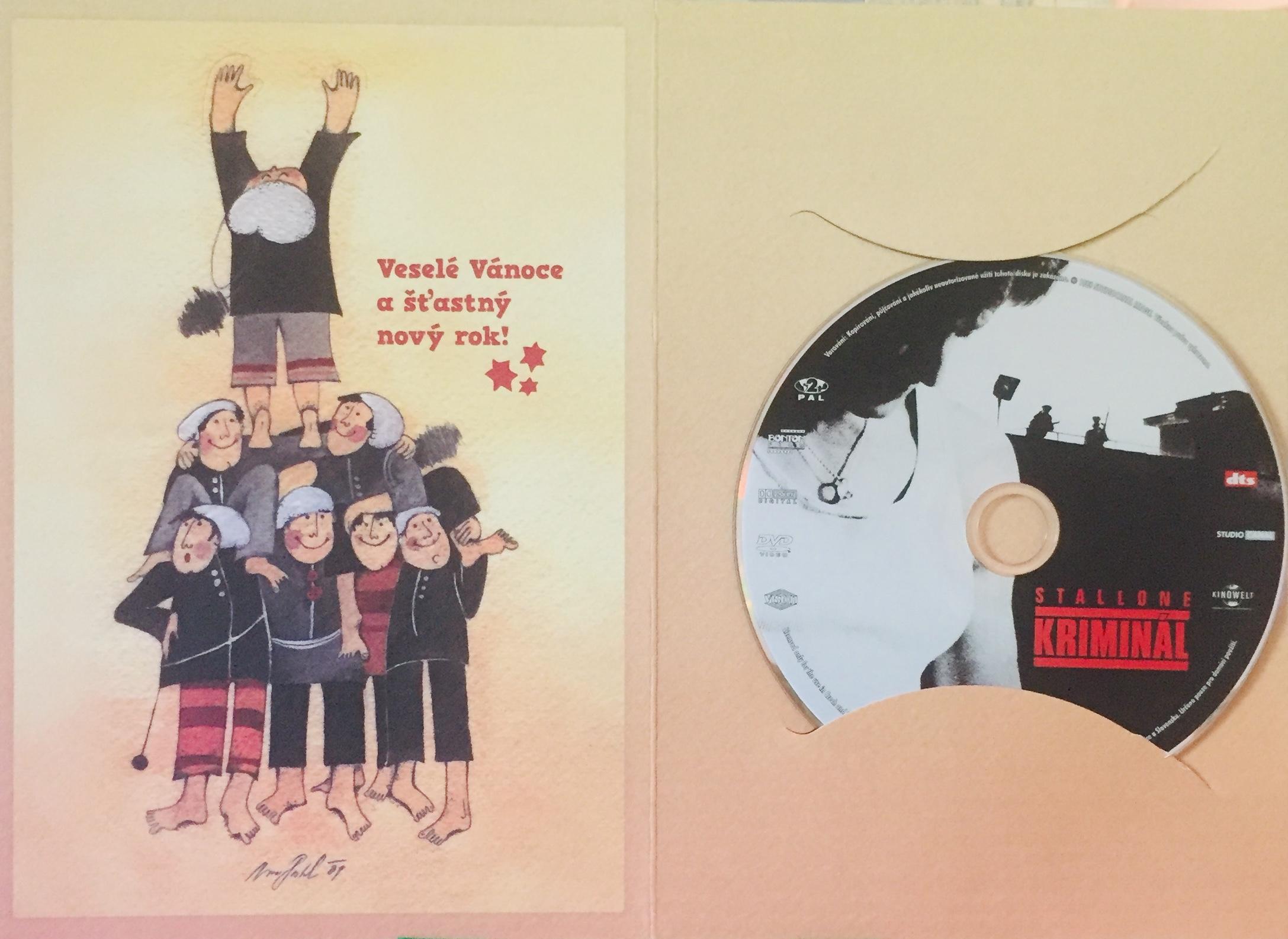 Kriminál - DVD /dárkový obal/