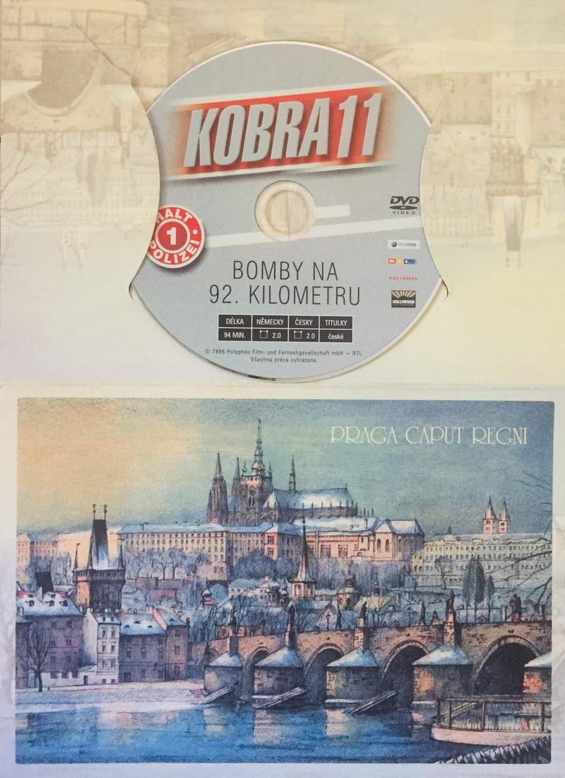 Kobra 11 - Bomby na 92. kilometru - DVD /dárkový obal/