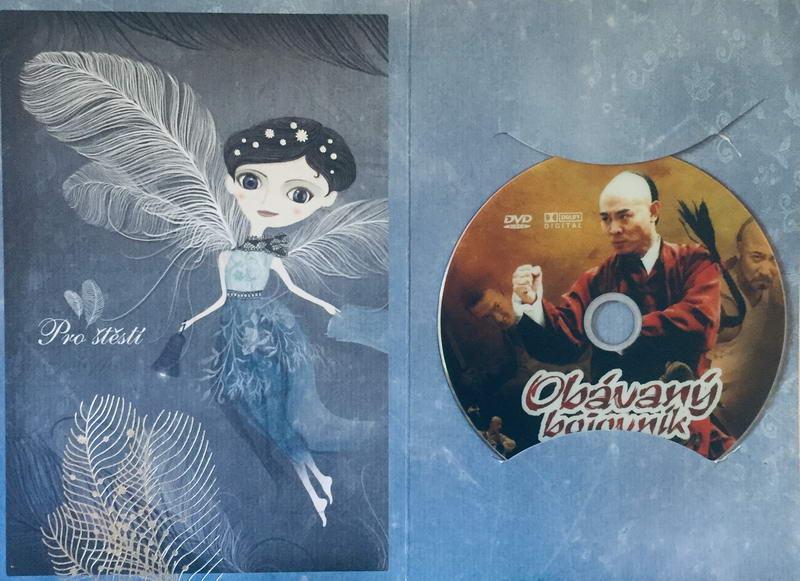 Obávaný bojovník - DVD /dárkový obal/